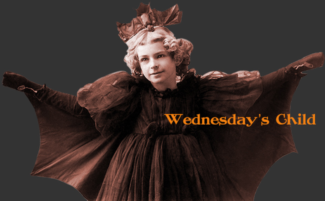 Wednesday's Child Batgirl Logo